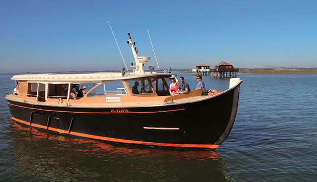 Escapada a Arcachon con una excursión en barco