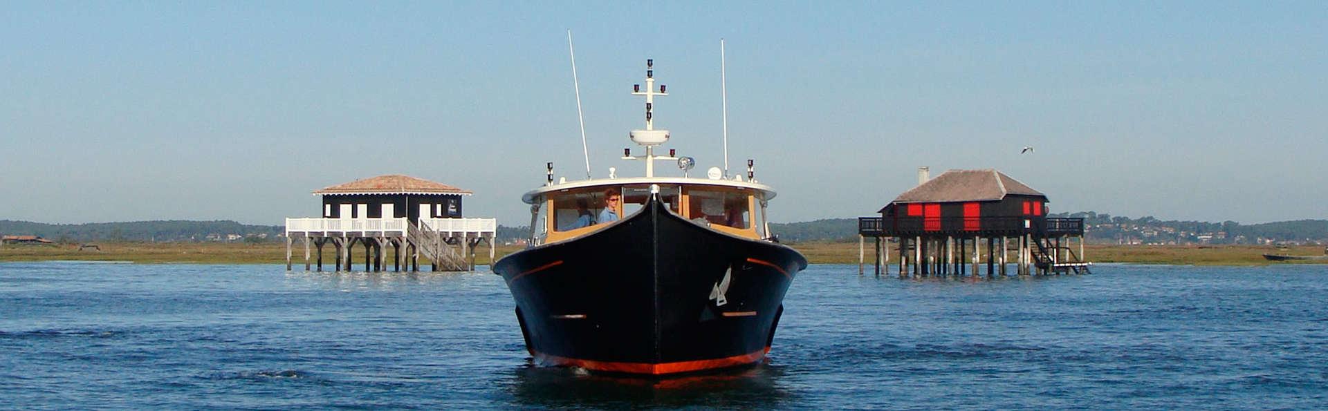 Week-end avec excursion en bateau sur le Bassin d'Arcachon