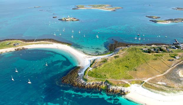 Batz, Sein, Molène, Ouessant, archipel des Glénan, partez à la découverte de ces paradis en bateau