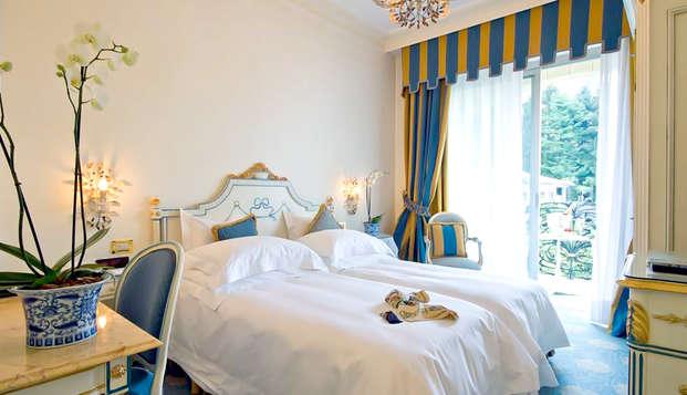 Camera Superior con vista sul Lago Maggiore ed accesso alla spa!