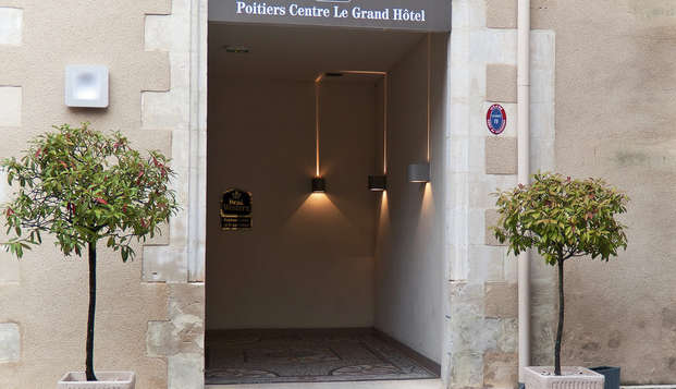 Best Western Poitiers Centre Le Grand Hotel - entry