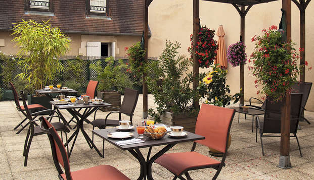 Best Western Poitiers Centre Le Grand Hotel - terrace