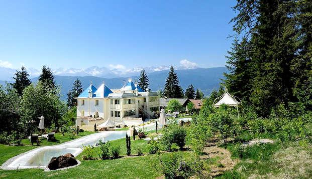 Soggiorno di relax a 5* in suite con vasca idromassaggio nel cuore del Trentino