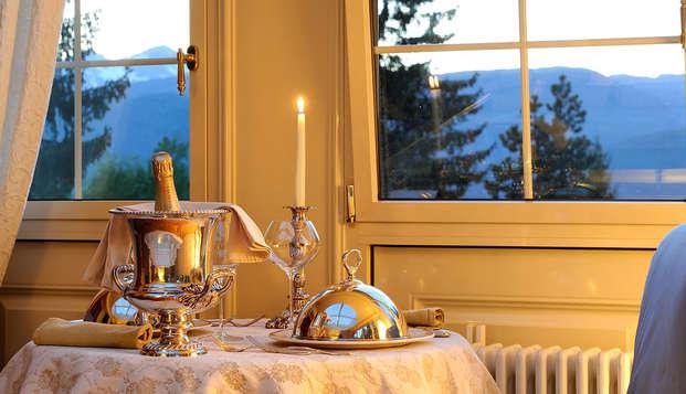 Soggiorno in Trentino in camera con vasca idromassaggio con pranzo di Pasqua!