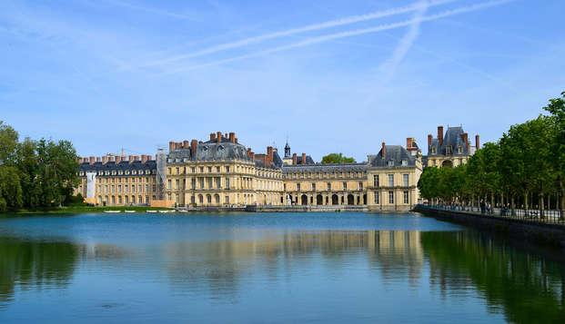 Entrée au château de Fontainebleau et séjour nature à 1 h de Paris