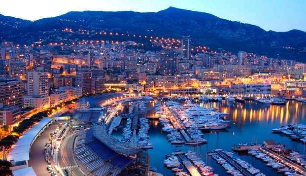 Escapade romantique avec champagne dans la luxueuse principauté de Monaco