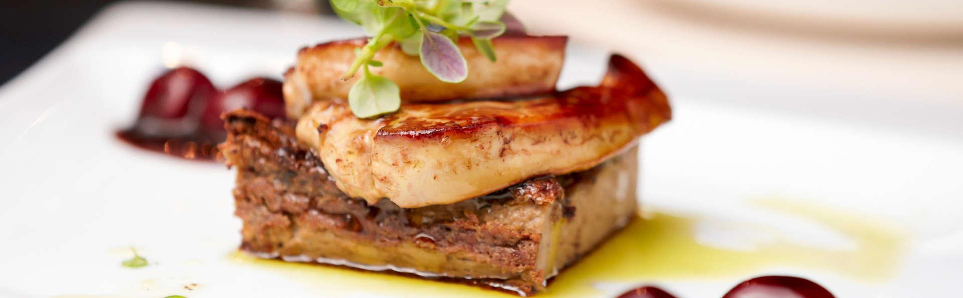 Week-end détente avec dîner gastronomique 5 plats et accès spa en Corrèze