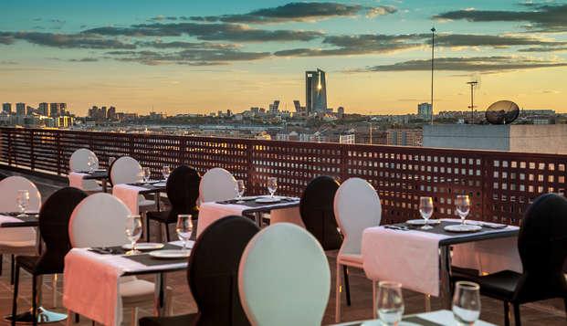 Hotel en las Tablas de Madrid con cena en restaurante a escoger y parking incluido