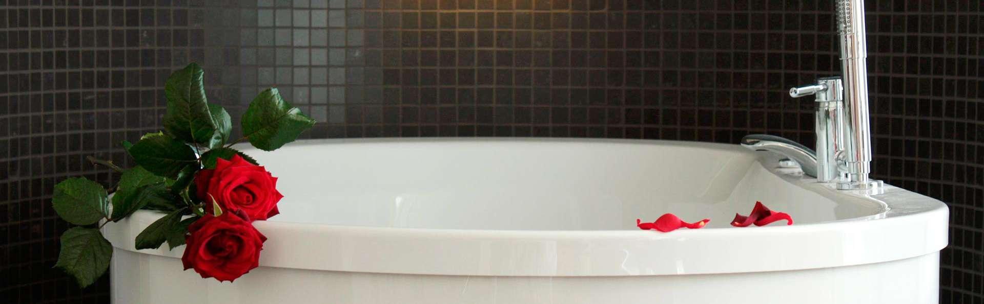 Romance pour deux avec bain à remous au cœur de la Frise