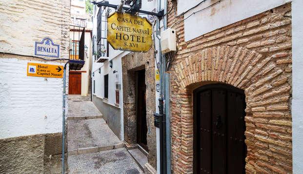 Hotel Casa del Capitel Nazari - entry