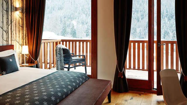 3 notti in camera doppia deluxe vista montagna per 2 adulti
