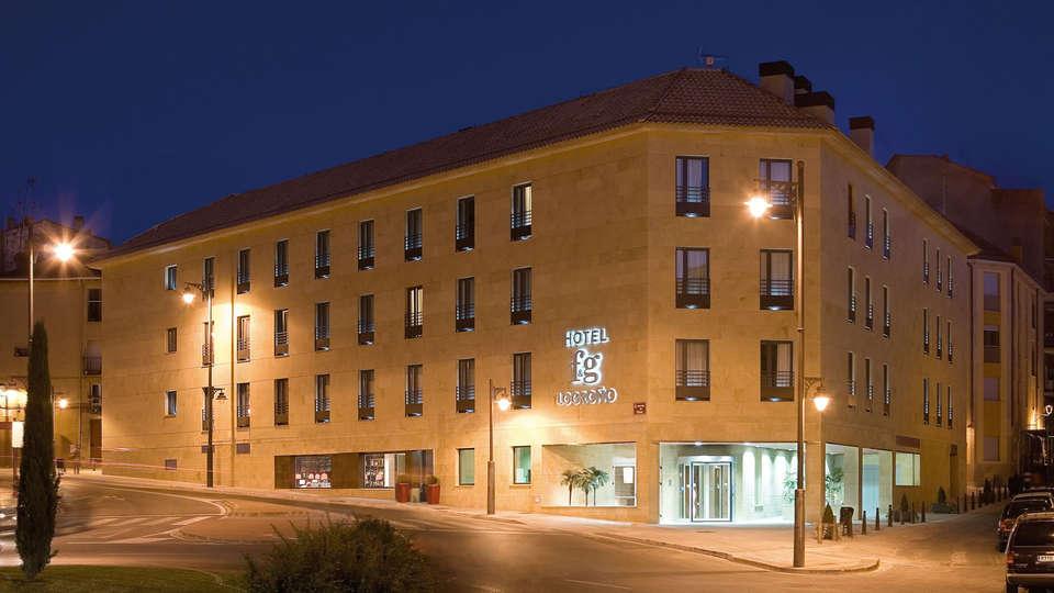 Hotel F&G Logroño - edit_front_night.jpg