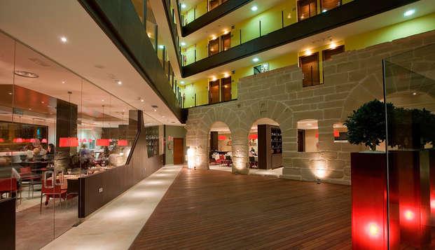Escápate a Logroño en moderno hotel 3* céntrico