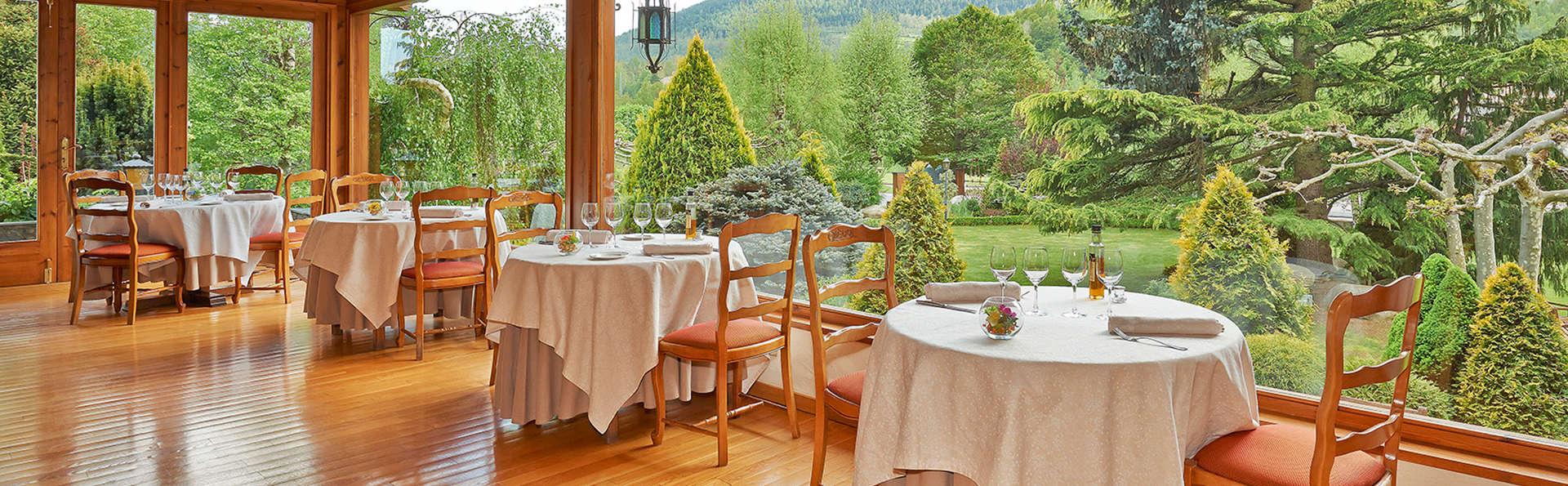 Escapada Gourmet: cena gastronómica y acceso a la zona termal cerca de Camprodon