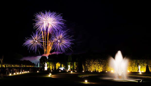 """Entrée au grand spectacle """"Les Grandes Eaux Nocturnes"""" et séjour 4* à Versailles"""
