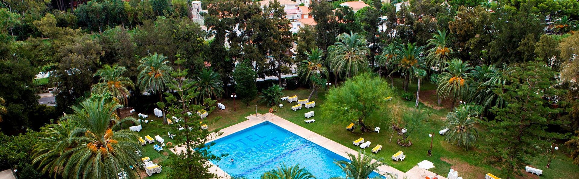 Été de luxe : Benicàssim en pension complète et séjour gratuit pour enfant (à partir de 3 nuits)