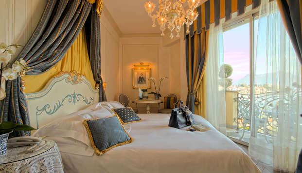 Soggiorno sul Lago Maggiore in camera deluxe con accesso alla spa