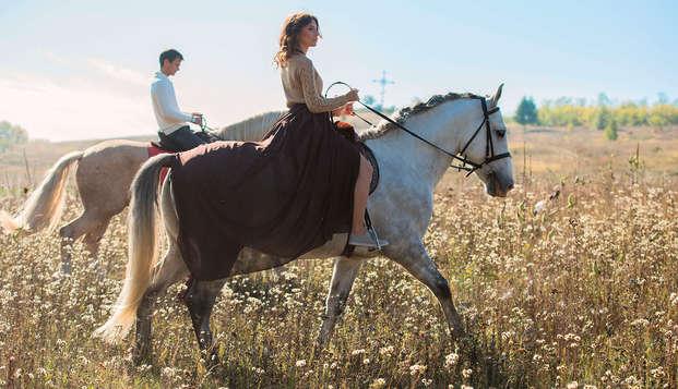 Découvrez la campagne aragonaise avec une balade à cheval (à partir de 2 nuits)