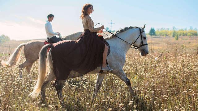 Fin de semana en plena naturaleza aragonesa con paseo en caballo (desde 2 noches)