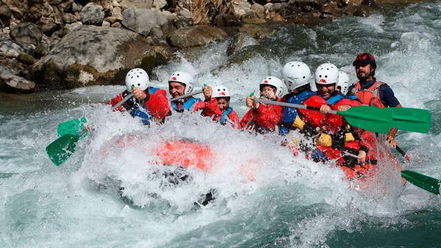 Escapada aventura con bajada en rafting en el Valle del Benasque (desde 2 noches)