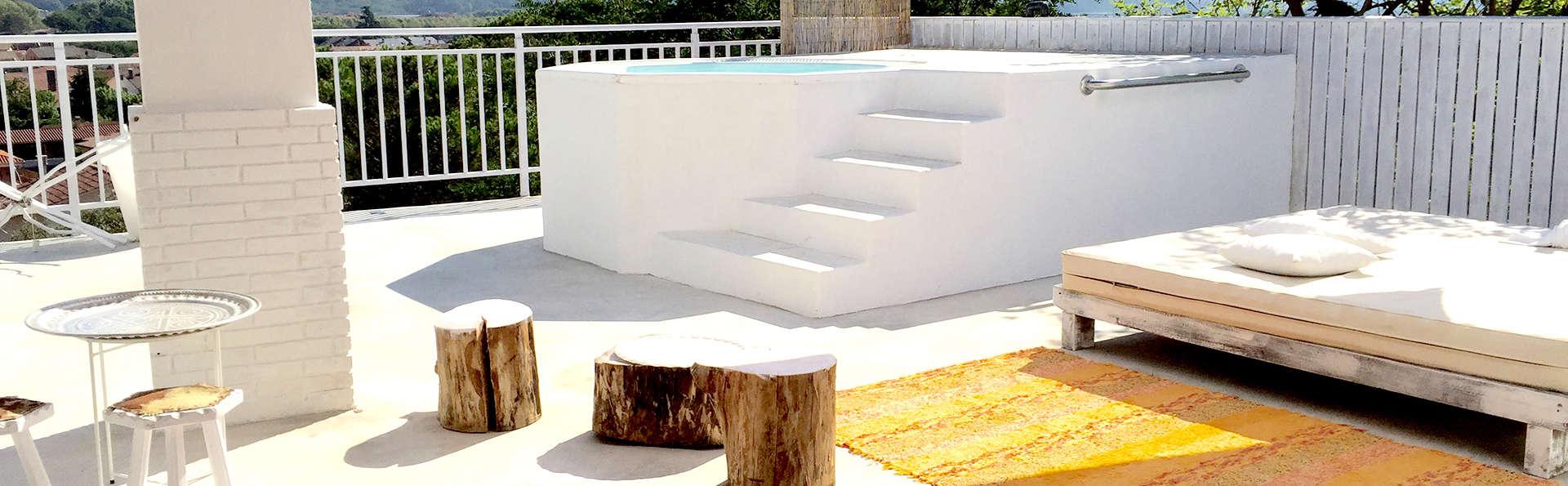 Minivacaciones en el Montseny con spa privado (desde 2 noches)