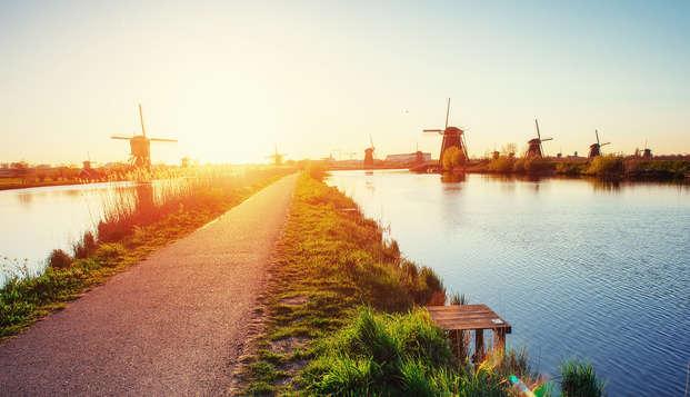 Geniet van een overnachting in het rustige Vlaardingen en ontdek de bruisende stad Rotterdam
