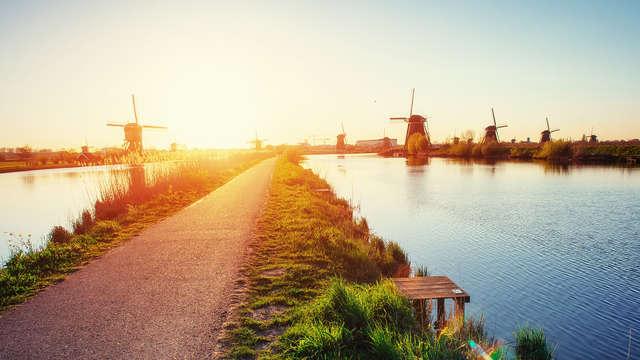 Nuit paisible à Vlaardingen et découverte la ville animée de Rotterdam