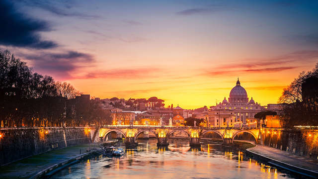 Descubre Roma a un paso de la plaza de San Pedro