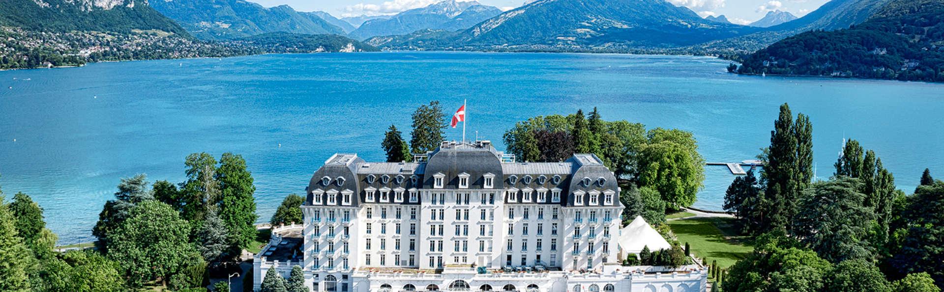 Week-end détente avec accès spa offert, au bord du lac d'Annecy