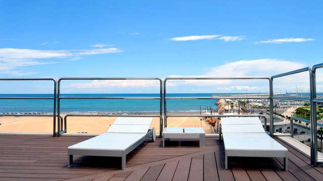 Romantisme avec spa, cava et bain hydromassant à Valence à deux pas de la mer