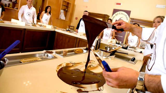Bulles et chocolat dans un hôtel de charme à Pérouse