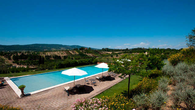 Air de la campagne dans une belle villa entre la Toscane et l'Ombrie