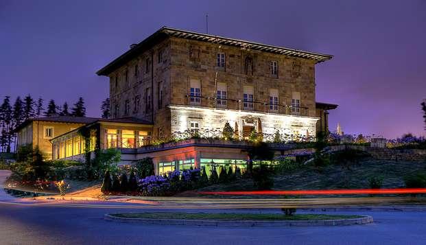 Escapada Romántica con encanto en habitación superior cerca de Bilbao