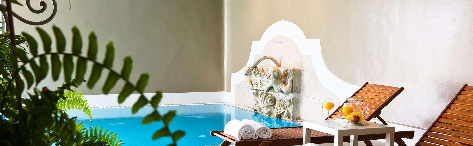 Escapade détente avec piscine chauffée dans un environnement calme près de Bilbao