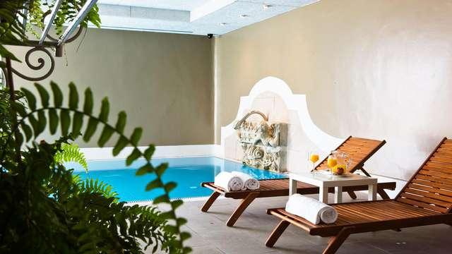 Escapada Relax con acceso a la piscina climatizada en un entorno tranquilo cerca de Bilbao