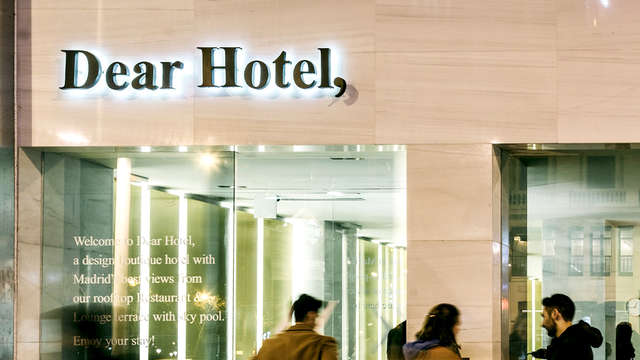 Dear Hotel Madrid - Front
