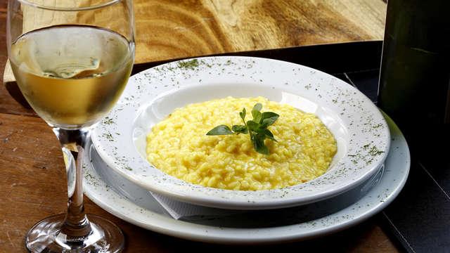Dineren in het centrum van Milaan