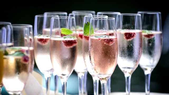 Romanticismo con champán y cena en la Selva Negra (desde 2 noches)