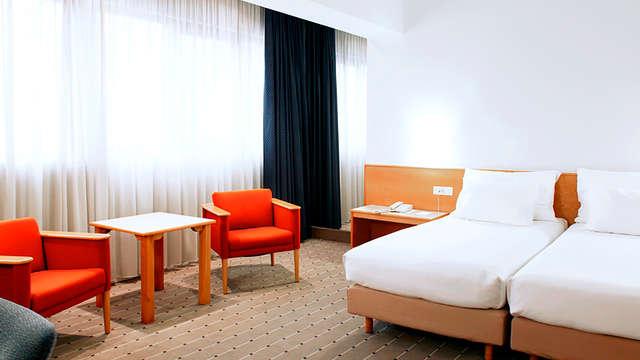 Escapada en un céntrico hotel en Pamplona