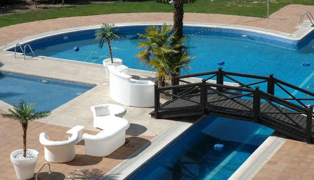 Escapada relax con acceso al spa y copa de bienvenida en Alcalá de Henares