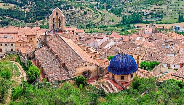 Fin de semana cultural: entradas al Castillo y cena en Morella (desde 2 noches)