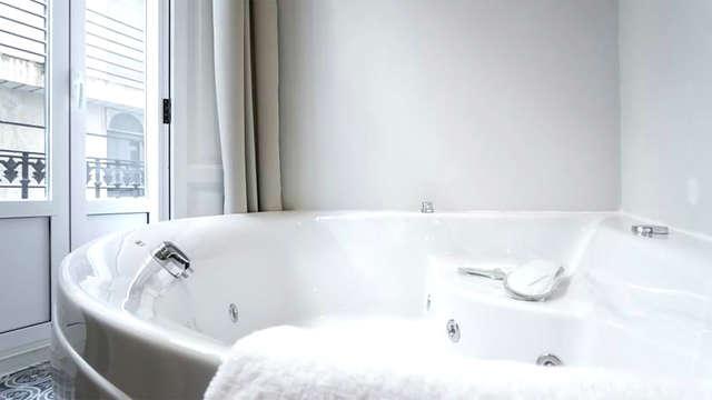 Fuga romantica con vasca idromassaggio privata nel centro di Valencia