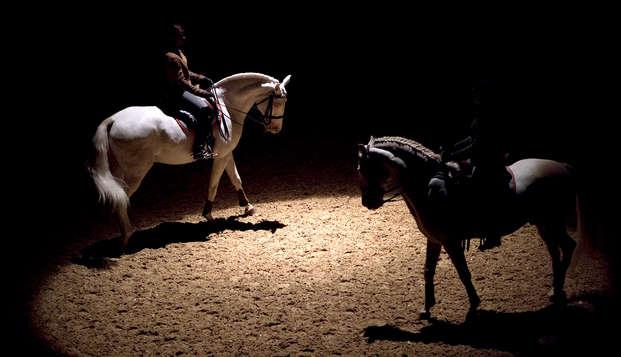 """Toegang tot de paardenshow """"La voie de l'écuyer"""" en 3-sterrenverblijf in Guyancourt"""