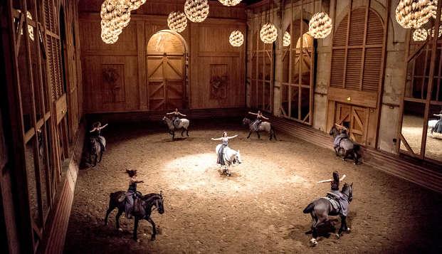 Charme à Versailles avec spectacle équestre
