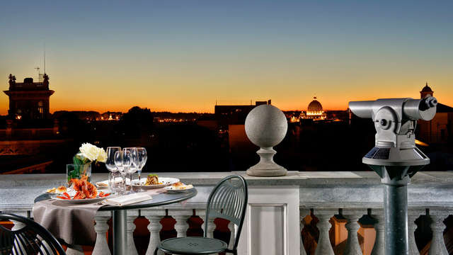 Weekend a Roma: nel centro della capitale in hotel con terrazza panoramica