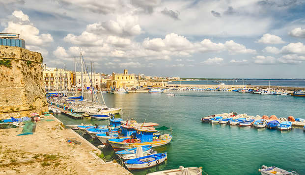 A un paso de las playas cristalinas en Gallipoli