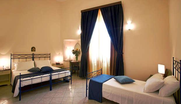 Vacaciones en el corazón de Apulia en habitación triple