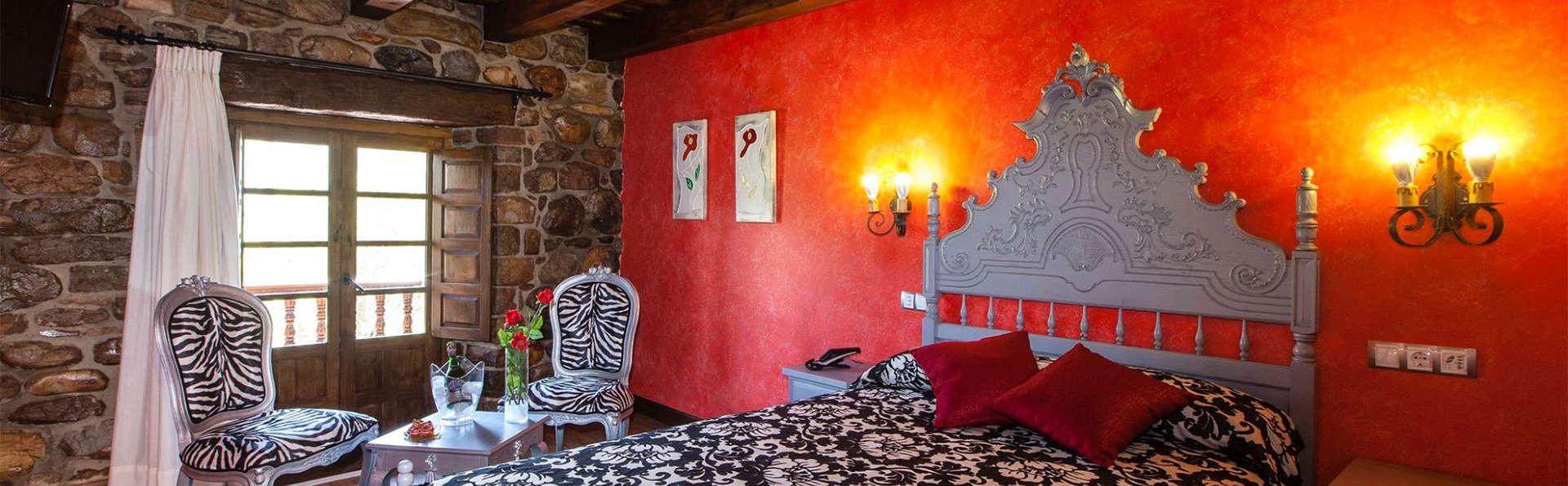 Escapada Relax con bañera de hidromasaje, Spa privado y Cena romántica (desde 2 noches)
