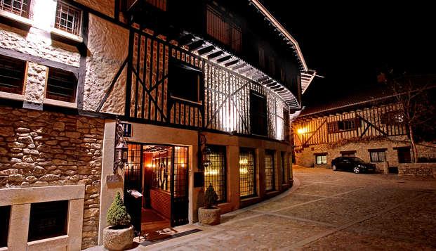 Bienestar y Gastronomía en este hotel con encanto en Mogarraz con Cena y Spa (desde 2 noches)