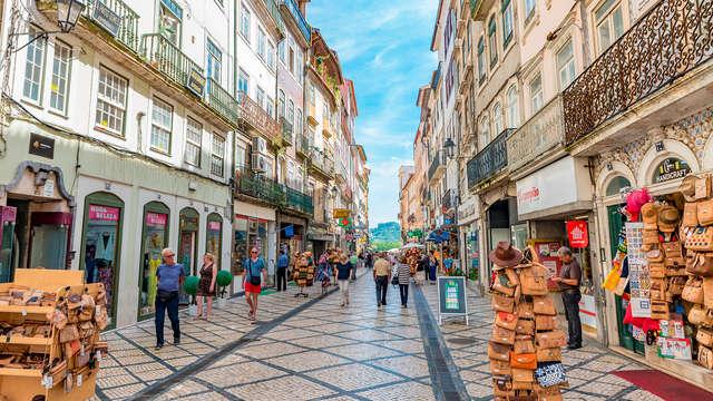 Ontspannen uitje in de historische stad Coimbra met toegang tot de spa